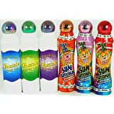 """Bingo Dauber """"Best Selling Colors"""" Set! - Mixed with 3 Dazzle Glitter & 3 Ultra Bright Sunsational Ink Dabbers"""