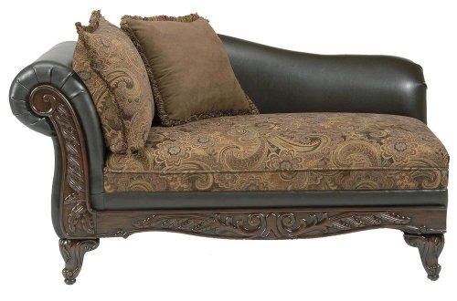 Serta Upholstery Fabric San Chocolate / Raisin Chaise 0