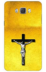 jesus Designer Printed Back Case Cover for SAMSUNG Galaxy J7 - 6 (New 2016 Edition)
