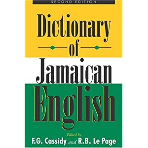 Amazon.com: A Dictionary of Jamaican English (9789766401276 ...