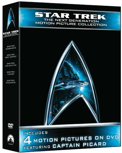 Star Trek: The Next Generation Motion Picture Collection (First Contact / Generations / Insurrection / Nemesis) by Paramount