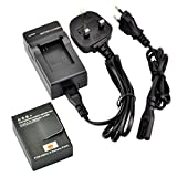 DSTE® AHDBT-302 Rechargeable Li-ion Battery + Charger DC137U for Gopro HD Hero3+, Hero3 Digital Cameras