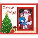 Santa and Me Christmas Picture Frame Gift