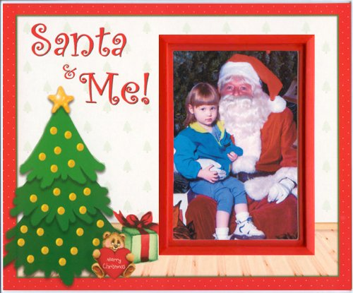 Santa and Me Christmas Picture Frame Gift - 1