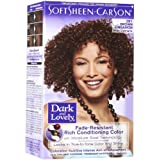 SoftSheen Carson Dark and Lovely Reviving Colors Semi-Permanent Haircolor, Brown Cinnamon 391 - kit