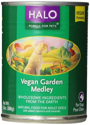 Halo Vegan Garden 12-Pack Medley Stew For Dogs, 13-Ounce