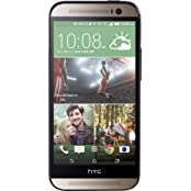 HTC - One (M8) 4G LTE Mobile Phone - Harmon Kardon Edition Gold