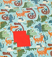 2 Cute Dinosaur Sheet Wraps