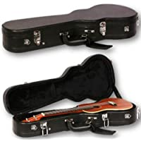 BLACK HARDCASE FOR CONCERT UKULELE