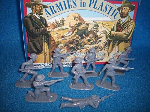 Boer War 1899-1902 Boer Commandos (20) 1/32 Armies in Plastic