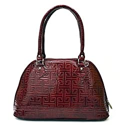 Inkdice Classy Red Hand Bag for Women