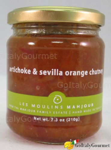 Les Moulins Mahjoub Artichoke & Sevilla Orange Chutney (Organic) - 210g(7.4oz)