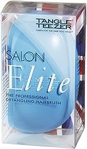 Tangle Teezer Salon - Cepillo para el pelo, color azul y rosa