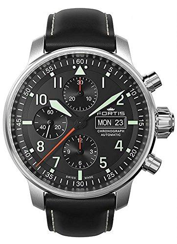 Fortis Aviatis spingerete Professional cronografo 705,21,11 L, 01