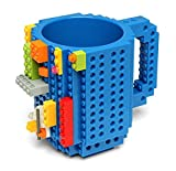 AuroTrends® DIY Build-on Brick Mug - Have Fun with Your Coffee Mug-350ml (Celeste)