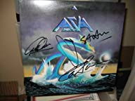 * ASIA * signed classic first album cover / UACC RD # 212