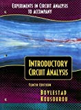 img - for Experiments in Circuit Analysis to Accompany Introductory Circuit Analysis by Boylestad, Robert L., Kousourou, Gabriel (2002) Paperback book / textbook / text book