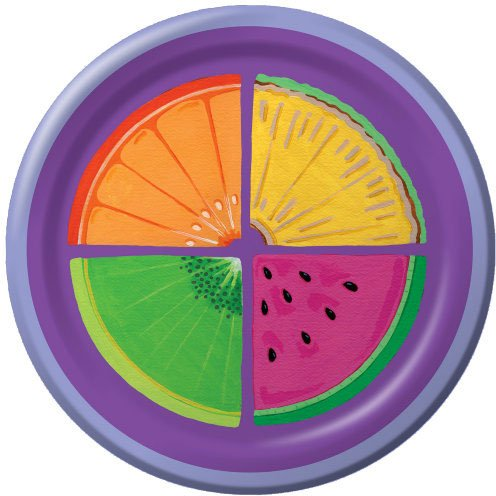 Dinner Plate Fresh Fruits (8 per package)