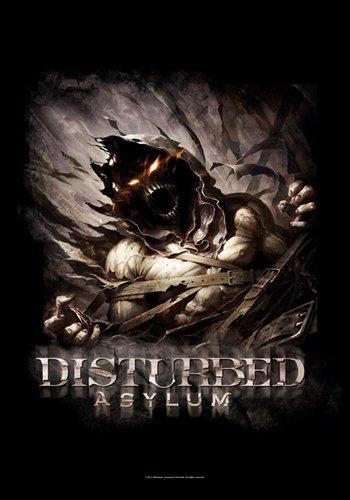 Disturbed Bandiera/Bandiera/Poster Bandiera Asylum