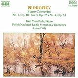 Prokofiev - Piano Concertos 1, 3 and 4