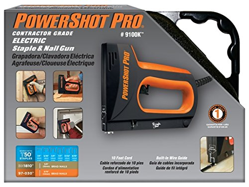 Arrow Fastener 9100K Powershot 9100TM Contractor Grade Electric Staple & Nail Gun (Arrow Electric Nail Gun compare prices)