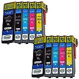 Compatible Epson Expression Premium XP-625 ink Cartridges - Replace Epson 26XL ink Cartridges (2 Sets (10 Pack)