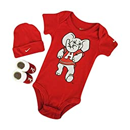 Nike Alabama 3 Piece Nike Infant Set Red (0 to 6 Months)