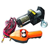 Hilltex 11302 12V Electric Winch, 1500 LB Capacity