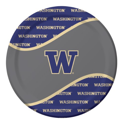 Creative Converting University of Washington Huskies Dinner Paper Plates (8 Count)