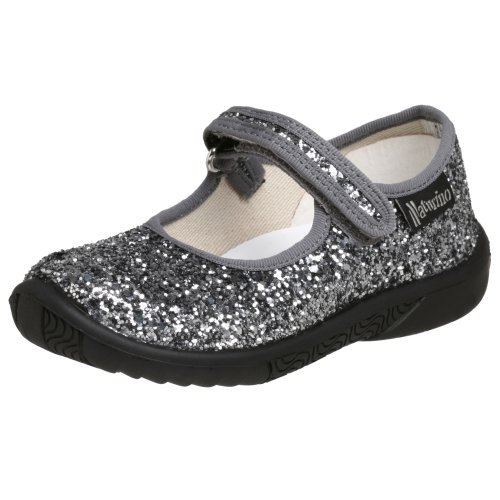 Naturino 7703 Mary Jane (Infant/Toddler/Little Kid),Silver,27 Eu (10.5 M Us Little Kid) front-35409