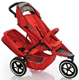 Phil& Teds Dash Buggy Single with Free Doubles Kit Red