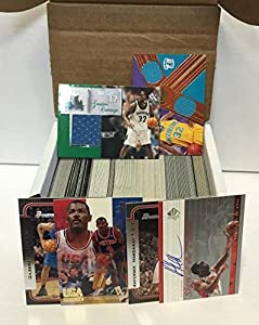 NBA Basketball Card Relic Jersey Autograph Hit Box w/ 300+ Cards & 3 Relic Autograph or Jersey Cards Per Box - Each Box Includes 3 Random RELIC Jersey, Basketball, or Autograph Cards & 1 Sealed Pack. - Box Includes NBA Rookies, Basketball Stars, & NBA Hal