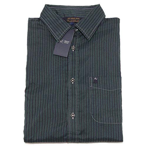 2370P camicia manica lunga ARMANI JEANS camicia uomo shirt men [L]
