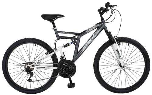 Pacific Chromium Men's Dual Suspension Mountain Bike (26-Inch Wheels)