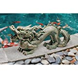 Design Toscano EU9306 Asian Dragon of the Great Wall Statue