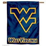 West Virginia University WVU Mountaineers House Flag