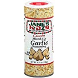 Jane's Krazy Chunky Mixed-Up Garlic Seasoning, 4.75 Ounce