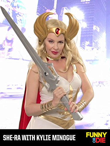 She-Ra with Kylie Minogue on Amazon Prime Instant Video UK