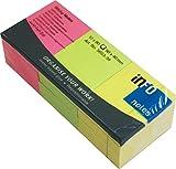 ドイツ生まれのふせん紙 colors mix pack(40x50mm) (ブリリアントカラー3色)