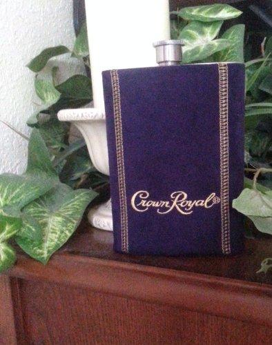 Crown Royal Purple Suede Flask