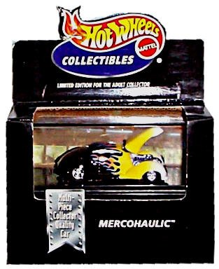 Hot Wheels Collectibles 1:64 Mercohaulic with Display Case - 1
