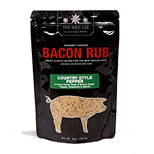 The Spice Lab's Gourmet Country Style Pepper Bacon Rub
