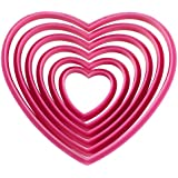 Wilton Nesting Heart Cutter Set