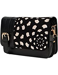 Borse Black And White Sling Bag