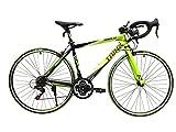 TRINX(トリンクス) 【ロードバイク】 入門用 補助ブレーキ付き Shimano21速 エントリーモデル 軽量 アルミフレーム TEMPO TEMPO ブラック/グリーン 480mm