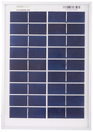Goldi Green 15W Silicon Solar Panel