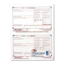 TOP22991 - W-2 Tax Form