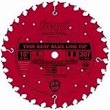 Freud LM75R010 10-Inch by 30t TCG 5/8-Inch Arbor Glue Line Rip Saw Blade