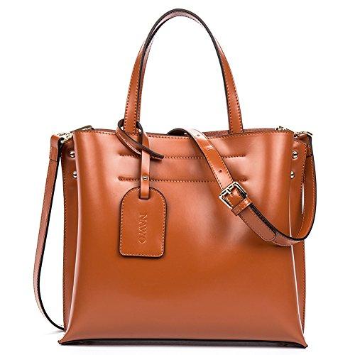 nawo-women-leather-handbag-shoulder-cross-body-bag-shopper-tote-school-satchel-brown