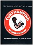 img - for Tubthumping (I Get Knocked Down But I Get Up Again - You're Never Going To Keep Me Down), by Chumbawamba (Sheet Music) Piano Vocal Guitar 1997 book / textbook / text book